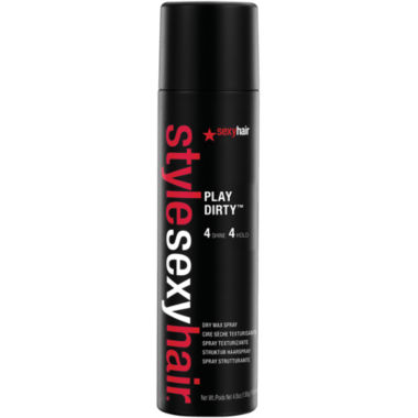 jcpenney.com | Style Sexy Hair® Play Dirty™ Dry Wax Spray - 4.8 oz.