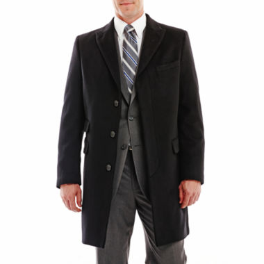 jcpenney.com | Stafford® Peak Lapel Topcoat
