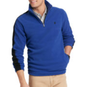 IZOD® Quarter-Zip Polar Fleece Pullover