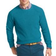 IZOD® Crewneck Shaker Sweater