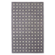 JCPenney Home™ Dots Wool Rectangular Rug
