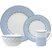 Nikko® Blue Brushstroke 4-pc. Place Setting