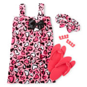 Pink Leopard Spa Set - Girls 6-12