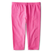Okie Dokie® Knit Capris - Girls 2t-5t