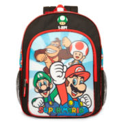 Nintendo Super Mario Brothers Backpack – Boys One Size