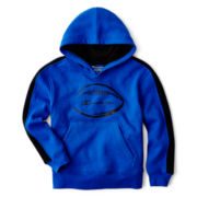 Champion® Fleece Football Graphic Hoodie – Boys 8-20