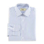 Haggar® Wide Stripe Poplin Dress Shirt