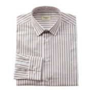Haggar® Bold Stripe End-On-End Dress Shirt