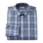 Haggar® Glen Plaid End-On-End Dress Shirt