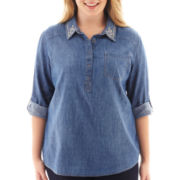 Arizona Denim Tunic - Plus