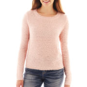 Arizona Long-Sleeve Bouclé Sweater