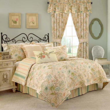 jcpenney.com | Waverly® Cape Coral Quilt Set & Accessories