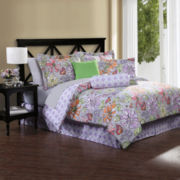 Eliza Floral Complete Bedding Set with Sheets