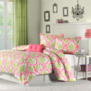 Mi Zone Monica Damask Comforter Set