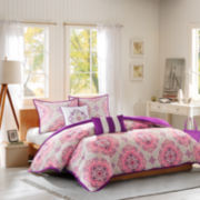 Intelligent Design Sarah Medallion Comforter Set
