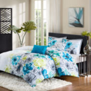 Intelligent Design Olivia Floral Comforter Set