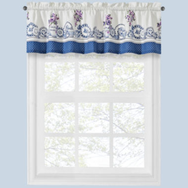 jcpenney.com | Afternoon Tea Rod-Pocket Tailored Valance