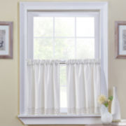 Regent 2-Pack Rod-Pocket Window Tiers