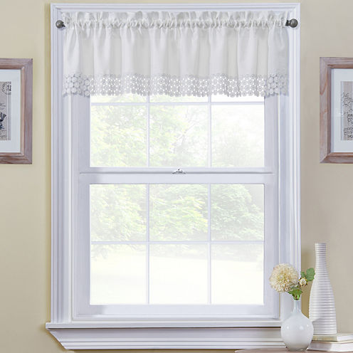 Regent Rod-Pocket Tailored Valance