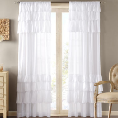 jcpenney.com | Madison Park Joycelyn Rod-Pocket Cotton Curtain Panel