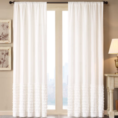 jcpenney.com | Madison Park Kylie Rod-Pocket Cotton Curtain Panel