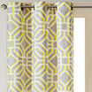 Madison Park Alana Grommet-Top Curtain Panel