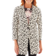 Liz Claiborne Animal Print Coat