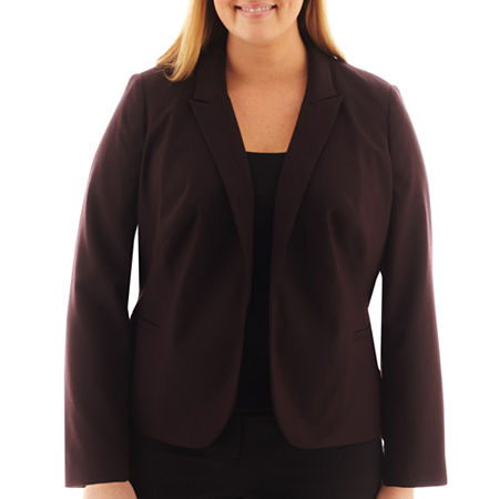 Worthington Essential Open-Front Blazer - Plus