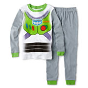 Disney Collection Buzz Lightyear 2-pc. Pajama Set – Boys 2-10