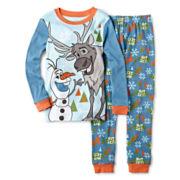Disney Collection Frozen 2-pc. Pajama Set – Boys 2-10