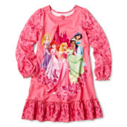 Disney Princess Nightshirt – Girls 2-10