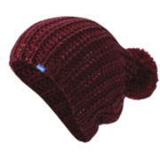 Keds® Metallic-Coated Knit Pom-Pom Beanie