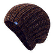 Keds® Metallic-Coated Knit Beanie