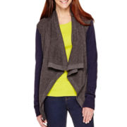 Stylus™ Long-Sleeve Thermal Flyaway Cardigan - Tall