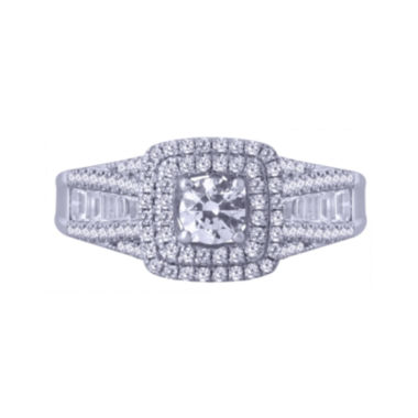 jcpenney.com | Modern Bride® Signature 1 CT. T.W. Certified Diamond 14K White Gold Ring