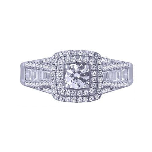 Modern Bride® Signature 1 CT. T.W. Certified Diamond 14K White Gold Ring