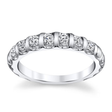jcpenney.com | Sirena® 1 CT. T.W. Diamond 14K White Gold Wedding Band