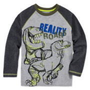 Disney by Okie Dokie® Good Dinosaur Raglan Tee - Toddler Boys 2t-5t