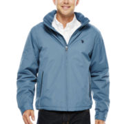 U.S. Polo Assn.® Fleece-Lined Jacket with Zip-Out Hood
