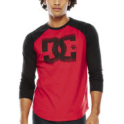 DC® Game On Raglan-Sleeve Logo Tee