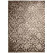Kathy Ireland® Royal Shimmer Wool Shag Rugs