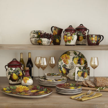 jcpenney.com | Certified International Botanical Fruit Dinnerware Collection