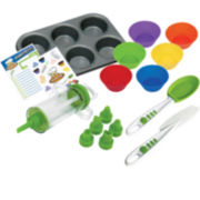 Curious Chef 16-pc. Kids Cupcake and Decorating Kit