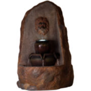 Navarro Rock LED Outdoor Fountain
