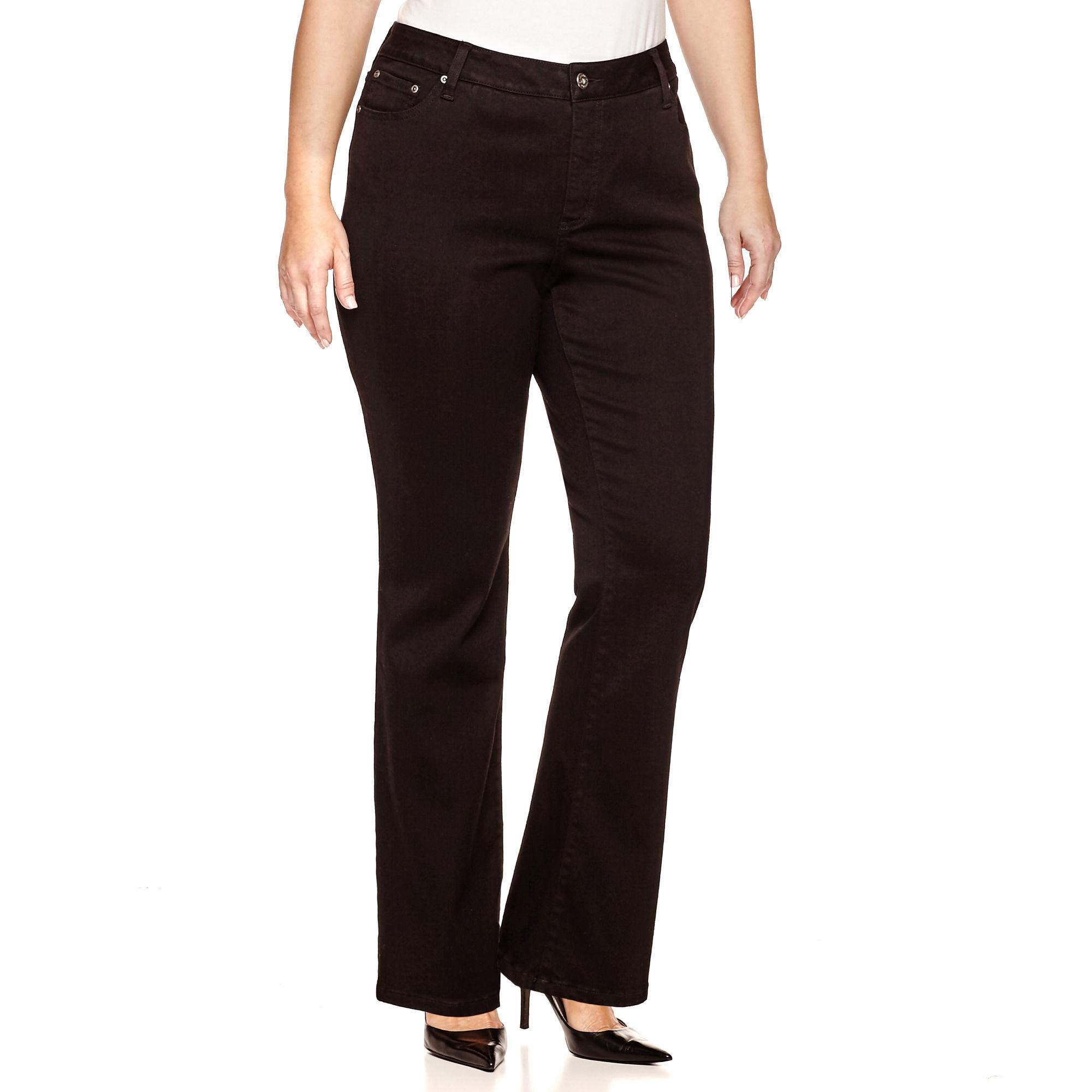 St. John's Bay Secretly Slender Bootcut Jeans - Plus