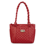 Rosetti® Haven Quilted Satchel