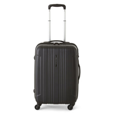 "jcpenney.com | Protocol® 21"" Carry-On Secure Hardside Spinner Upright Luggage"