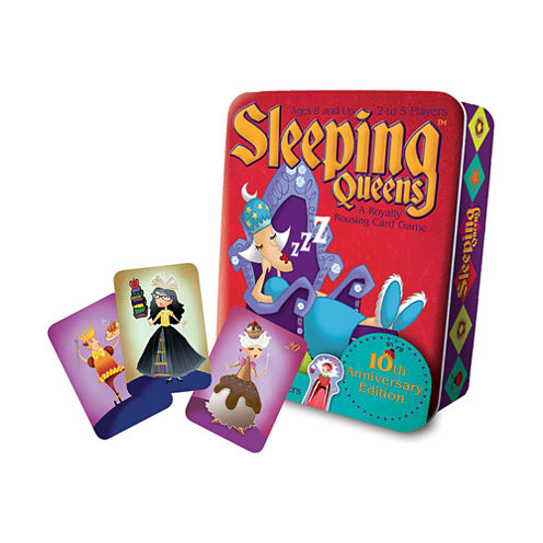 Gamewright Sleeping Queens Deluxe 10th AnniversaryTin Edition