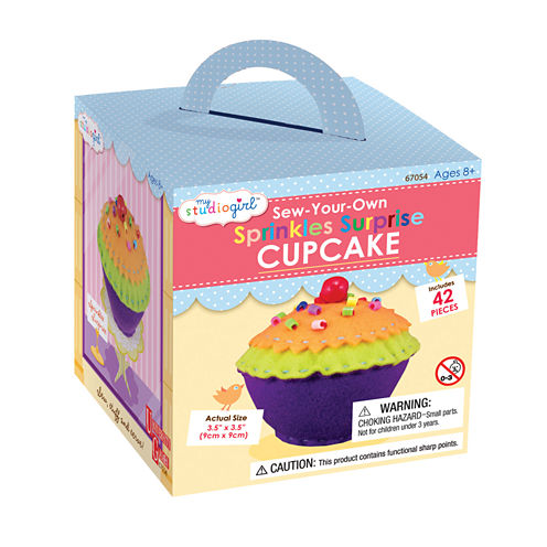 My Studio Girl Sew-Your-Own Sprinkles Surprise Cupcake