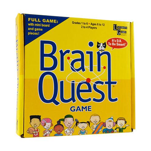 University Games Brain Quest Pocket Travel Game